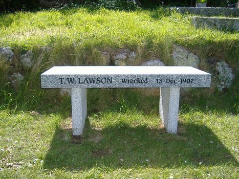 100th Anniversary Memorial Bench