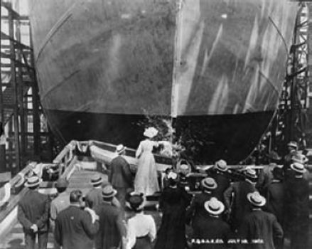 Launch of the Lawson, July 10 1902