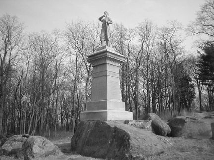 Gettysburg Monument to 155th PA Volunteers
